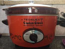 Tedelext Cookin Crock Slow Cooker