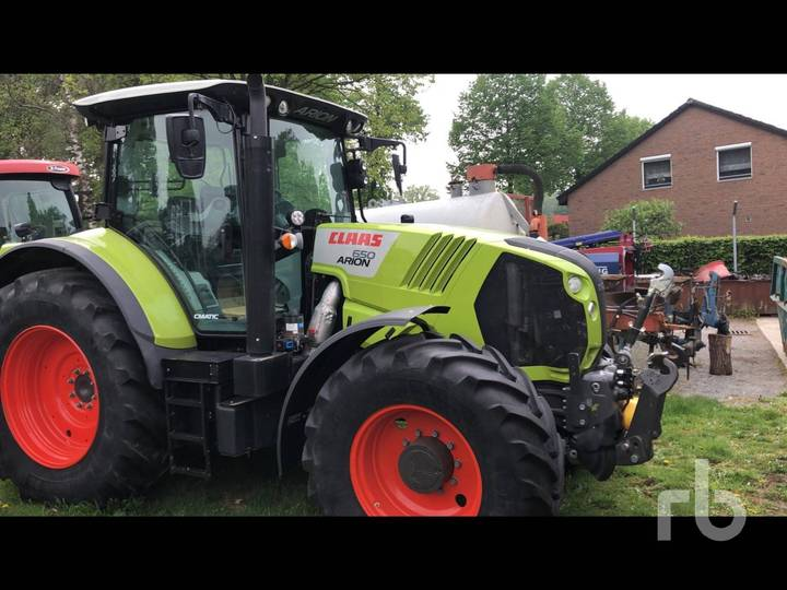 Claas ARION 650CMATIC - 2016