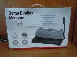 Brand New Comb Binding Machines in Boxes on Sale