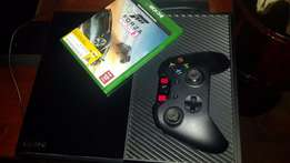 xbox one-with headset and 1 controller-(no games)-great condition