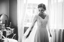 Suknia ślubna Boho Suknie ślubne W Gdynia Olxpl