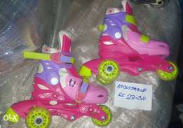 small gals skate shoes (size 27-30)
