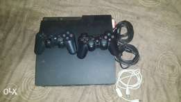 Ps3 with two remote for sale(comes with HDMI cable if needed)
