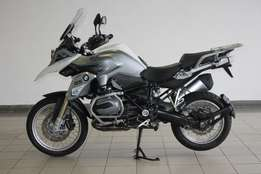 BMW R1200GS Trophy Edition 2015 with extras fitted