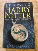 Harry Potter and the Deathly Hallows First Edition Book