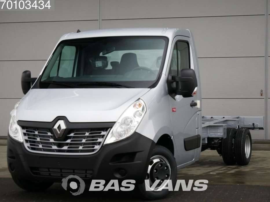 Renault Master Chassis cabine 165PK Dubbellucht Navigatie Airco 3...