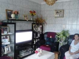 2 bedroom house for sale Urgent newly painted and tiling