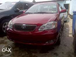 Very much for sale toyota corolla red for sale