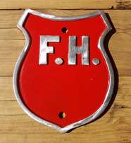 FH Sign - made out of Aluminium J 2644