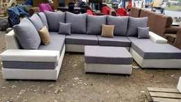 Josiaya furniture 8 seater sofa C-shaped sofa