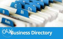 Business Directory placement (over 25 top business directories)
