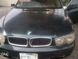 Clean BNW 7 Series green car for sale HURRY NOW