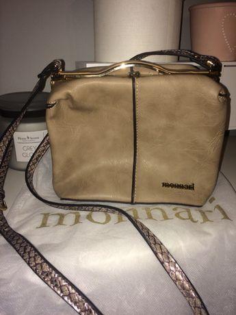 e7b7237131f90 Monnari mały kuferek torebka kopertówka złote dodatki Zara reserved Chełmno  - image 1