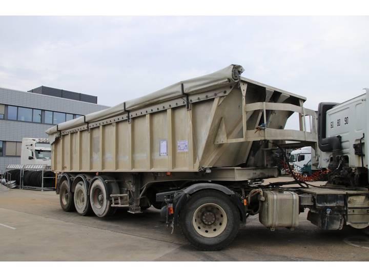 GENERAL TRAILER BENNE/KIPPER - AL - 3x essieux/assen - 2004