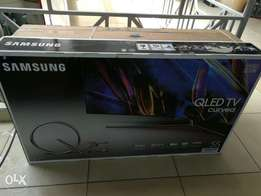 Samsung 55 inches curved Qled smart TV
