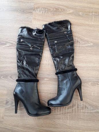 Продаються шкіряні зимові чоботи  500 грн. - Жіноче взуття Івано ... 8421b8056f354