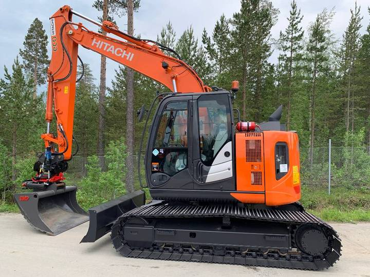 Hitachi Zx135usb-6 2018 1000tim - 2018