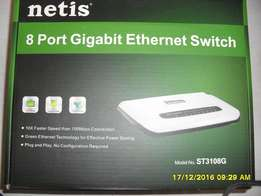 Netis 8 Port Gigabit Ethernet Switch