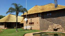 Thatching lapas, Swimming pools, Paving and Tar surfaces