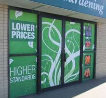Window Decals are a cost-effective way to attract attention and sales