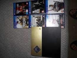 Ps4 500gig and 6 games R4800