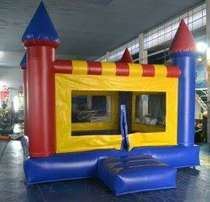 inflatable jumping castle slide with lead free material for sale