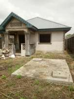 For Sales 3Bedroom Bungalow On Half Plot In Ajah at Bogije