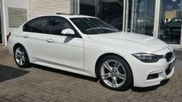 BMW 320D M SPORT with 135054 km on the clock, full service history