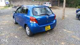 Toyota Vitz 1300cc with dark interior