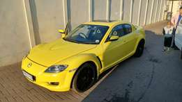 Mazda RX 8 for sale or to swop.