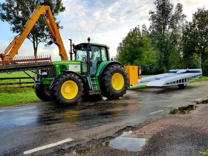 new mobiele aagomac slootbrug tractor
