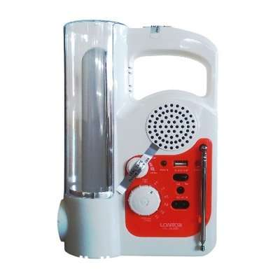 Genuine Lontor Rechargeable Lamp With Radio And USB Port Lagos Island West - image 3