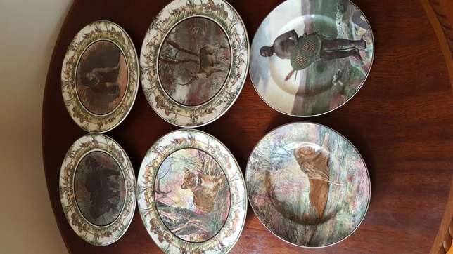 Royal Doulton African Series Collectable Plates Rossburgh - image 1