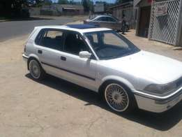 1995 toyota tazz/conquest 1.80i rsi for R 35000