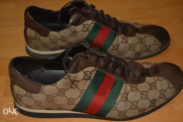 GUCCI Sneaker Made In Italy Size 41 used Once Like New Genuine leather