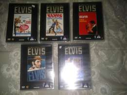 ELVIS - The official collectors edition 5 x DVDs