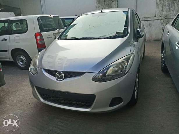 2010 model silver and black Mazda Demio for sale KCP number Mombasa Island - image 4