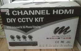 Selling Diy cctv Kit Channel Hdmi For R1500!!