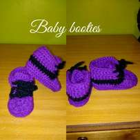 Crochet hand made Baby shoes