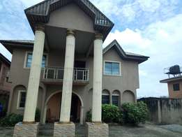 Strong 5bedroom Duplex for sale at Jakpa rd