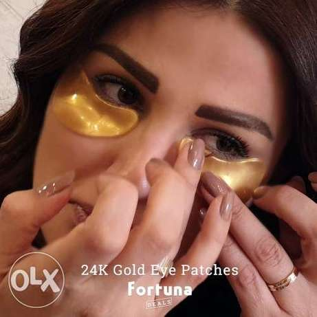 24K Gold Eye Patches