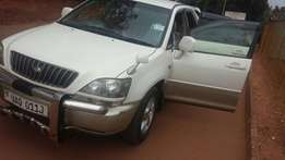Toyota harrier, great car