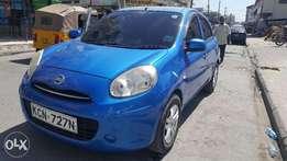 very clean nissan march just arrived with alloyreems