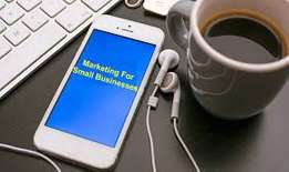 Small to medium size business marketing services