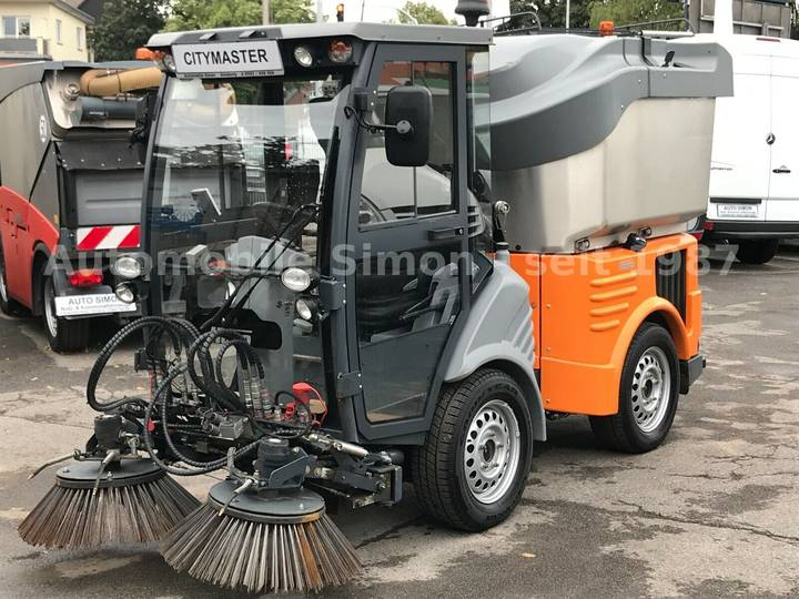 Hako Citymaster 1250 4x4 Kehrmaschine 1.Hand+HD-Pumpe - 2014
