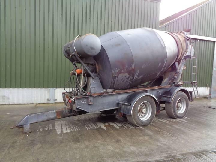 Trailed Concrete Wagon Body