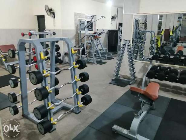 Gym Equipment * Dumbells * Elleptical* Treadmill
