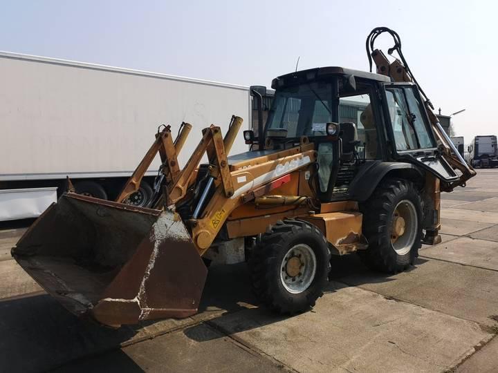 Case IH 580 SUPER M 4x4 | 66 kW / 90 HP | LOADER - BACKHOE - 2002