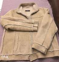 Tom Wolfe Sheep Skin Jacket - NEW