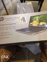 Gold HP Pavilion Touchscreen